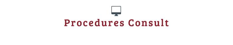 Procedures Consult
